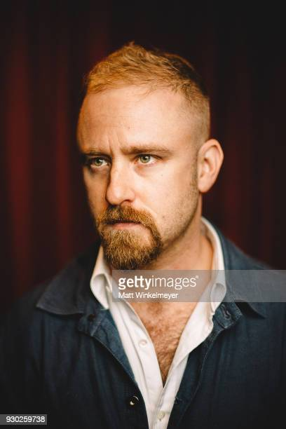 Ben Foster poses for a portrait at the 'Galveston' Premiere 2018 SXSW Conference and Festivals at Paramount Theatre on March 10 2018 in Austin Texas