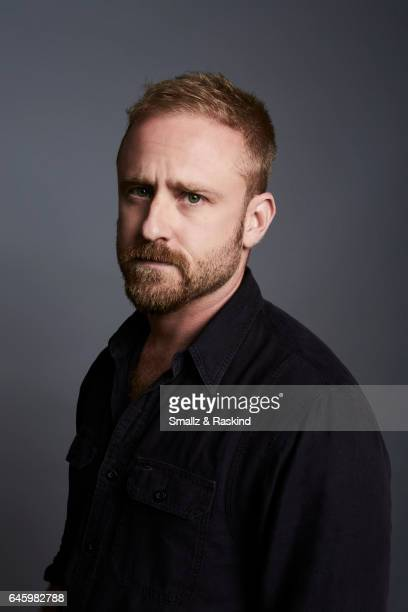 Ben Foster poses for a portrait session at the 2017 Film Independent Spirit Awards on February 25 2017 in Santa Monica California