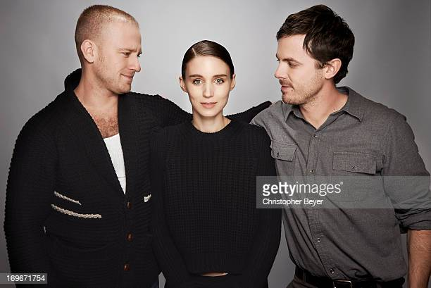 Ben Foster Rooney Mara and Casey Affleck are photographed for Entertainment Weekly Magazine on January 20 2013 in Park City Utah