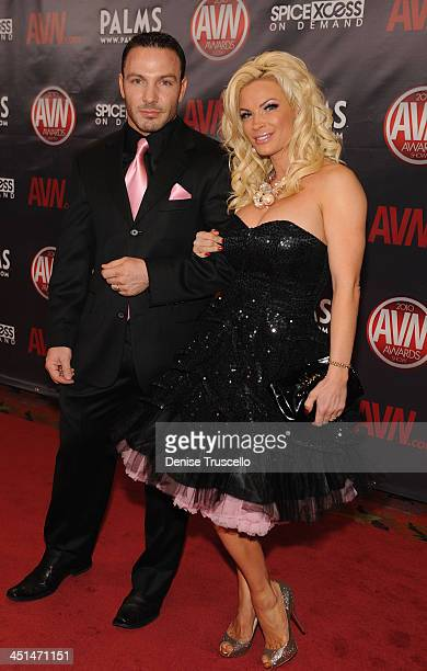 Ben Foxxx and Diamond Foxxx arrives at the 2010 AVN Awards at The Palms Casino Resort on January 9 2010 in Las Vegas Nevada