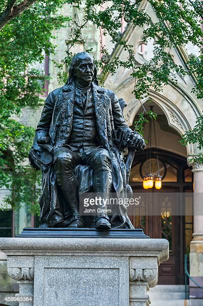 Ben Franklin sculpture at the University of Pennsylvania