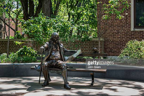 Ben Franklin statue on the University of Pennsylvania campus