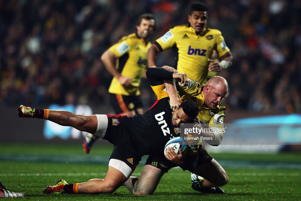 Super Rugby Rd 18 - Chiefs v Hurricanes