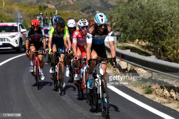 Ben Gastauer of Luxembourg and Team Ag2R La Mondiale / Mattia Bais of Italy and Team Androni Giocattoli - Sidermec / Etienne Van Empel of The...