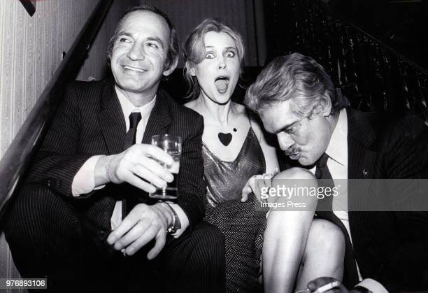 Ben Gazzara Cornelia Sharpe and Omar Sharif on March 28 1980 in New York