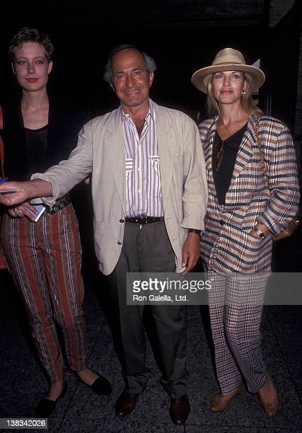 "Ben Gazzara, Elke Stuckmann and daughter Elizabeth Gazzara attend the premiere of ""Chantilly Lace"" on June 15, 1993 at the Walter Reade Theater at..."