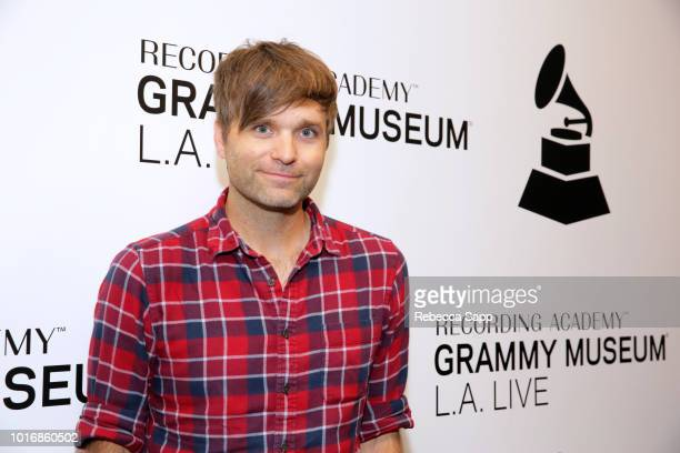 Ben Gibbard performs at The Drop Ben Gibbard from Death Cab for Cutie at the GRAMMY Museum on August 14 2018 in Los Angeles California