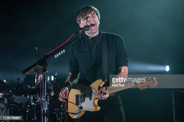 Ben Gibbard from Death Cab For Cutie performs at Eventim Apollo Hammersmith on February 01 2019 in London England