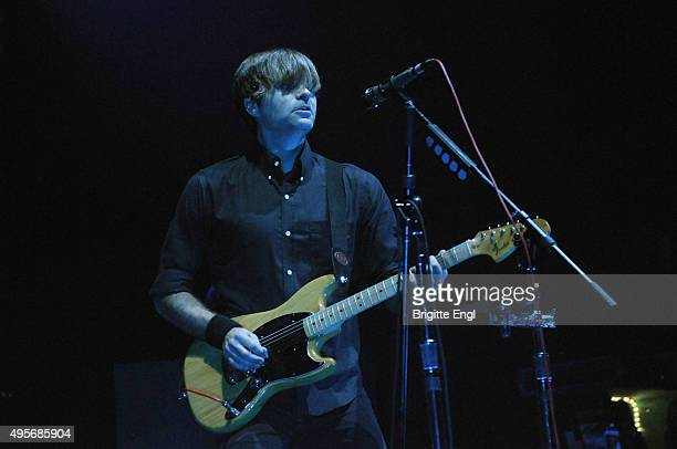 Ben Gibbard of Death Cab for Cutie performs at O2 Academy Brixton on November 4, 2015 in London, England.