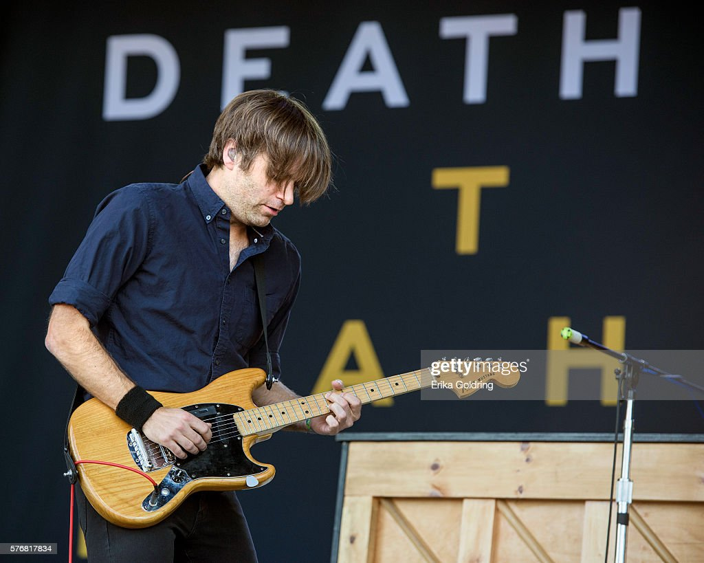 Ben Gibbard of Death Cab for Cutie performs at Waterfront Park on July 17, 2016 in Louisville, Kentucky.
