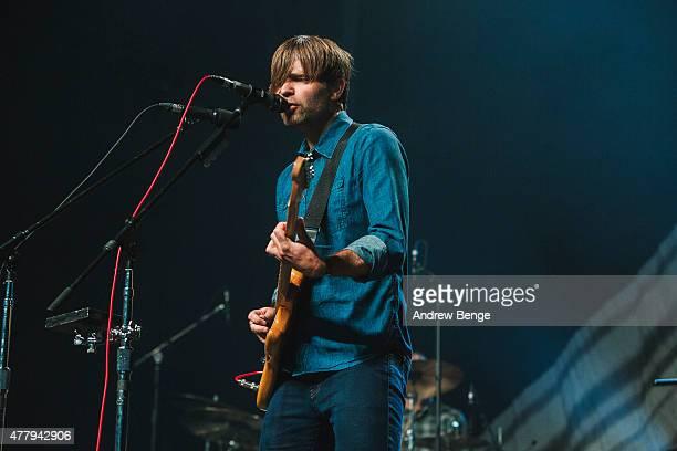 Ben Gibbard of Death Cab For Cutie performs on the main stage for Best Kept Secret Festival at Beekse Bergen on June 20 2015 in Hilvarenbeek...