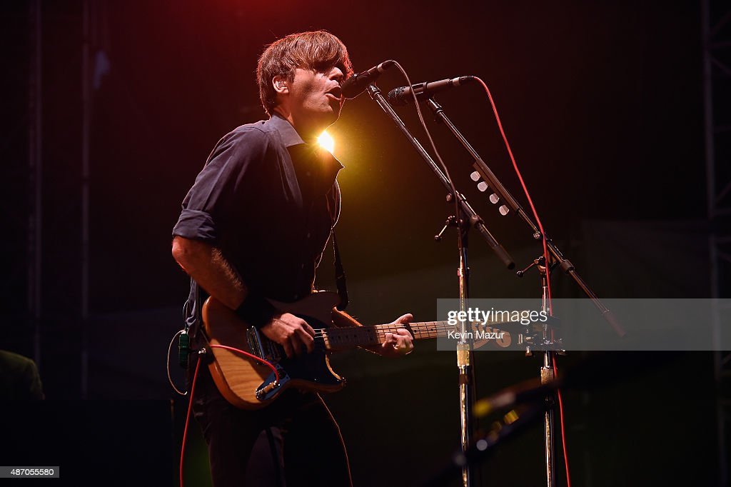 Ben Gibbard of Death Cab for Cutie performs onstage during the 2015 Budweiser Made in America Festival at Benjamin Franklin Parkway on September 5, 2015 in Philadelphia, Pennsylvania.