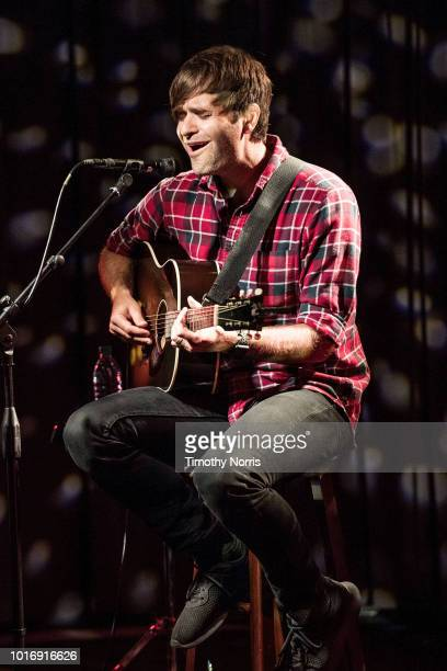 Ben Gibbard performs during The Drop Ben Gibbard from Death Cab for Cutie at The GRAMMY Museum on August 14 2018 in Los Angeles California