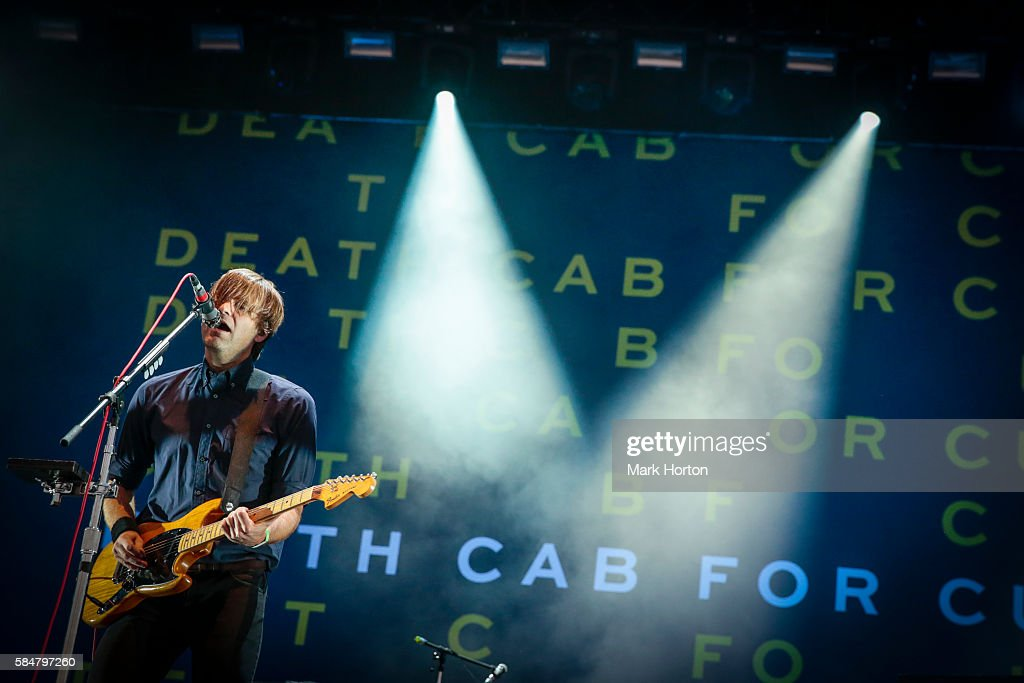 Ben Gibbard performs with Death Cab For Cutie on Day 2 of the Osheaga Music and Art Festival at Parc Jean-Drapeau on July 30, 2016 in Montreal, Canada.