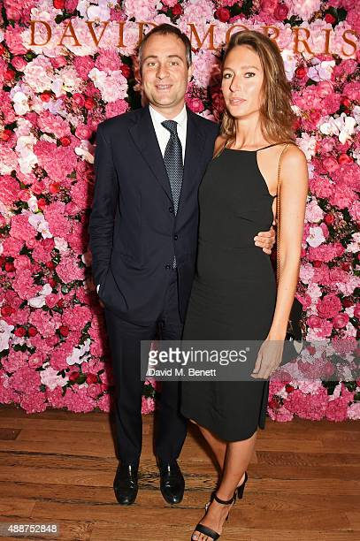 Ben Goldsmith and Jemima Jones attend the David Morris Ai Weiwei exhibition gala preview at the Royal Academy of Arts on September 17 2015 in London...