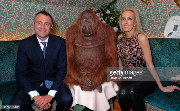 Ben Goldsmith and Sara Woodhead attend the Leuser Ecosystem Action Fund hosted by Ben Goldsmith and Sarah Woodhead at 5 Hertford Street in...