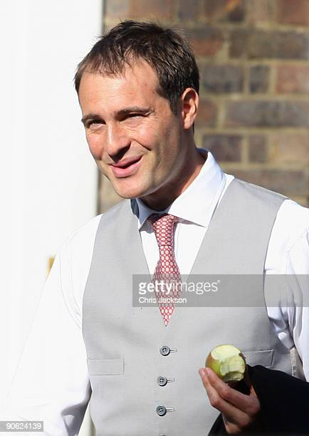 Ben Goldsmith is seen outside Lady Annabel Goldsmith's house Ormeley Lodge on September 12 2009 in Richmond upon Thames England Sophie Winkleman and...