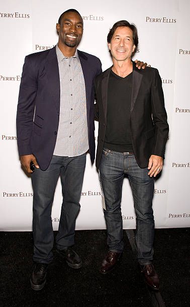 Ben Gordon and John Crocco attend the Perry Ellis Spring 2011 fashion show  during Mercedes- 4c0d91f70