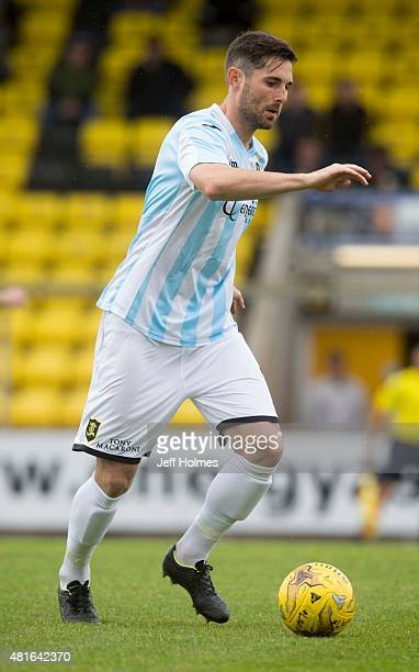 Ben Gordon of Livingston at the Pre Season Friendly between Livingston and Motherwell at the City Stadium on July 18th 2015 in Livingston Scotland