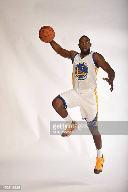 Ben Gordon of the Golden State Warriors poses for a portrait on September 28 2015 at the Warriors Practice Facility in Oakland California NOTE TO...
