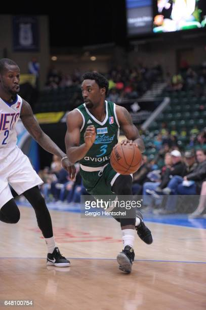 Ben Gordon of the Texas Legends in action during game against the Long Island Nets at The Dr Pepper Arena on March 4 2017 in Frisco Texas NOTE TO...