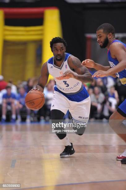 Ben Gordon of the Texas Legends in action during game against the Delaware 87ers at The Dr Pepper Arena on March 11 2017 in Frisco Texas NOTE TO USER...