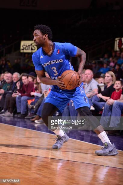 Ben Gordon of the Texas Legends looks to drive to the basket against the Northern Arizona Suns on March 23 2017 at Prescott Valley Event Center in...
