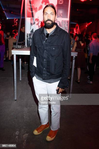 Ben Gorham attends the Raf Simons Menswear Spring/Summer 2019 show as part of Paris Fashion Week on June 20 2018 in Montreuil France