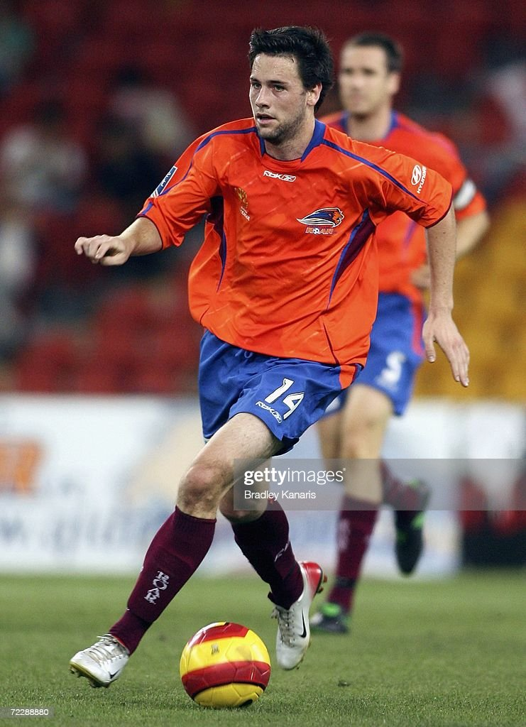 Ben Griffin of the Roar in action during the round ten Hyundai A-League match between the Queensland Roar and the Central Coast Mariners at Suncorp Stadium on October 28, 2006 in Brisbane, Australia.