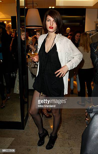 Ben Grimes attends the opening of the ''By Malene Birger'' flagship store on March 24 2010 in London England