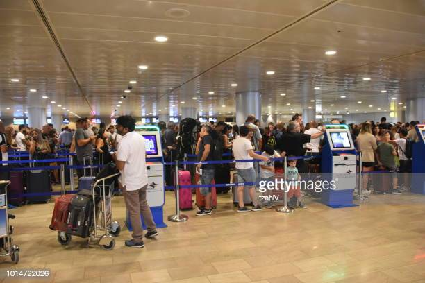 ben gurion airport, israel - ben gurion airport stock pictures, royalty-free photos & images