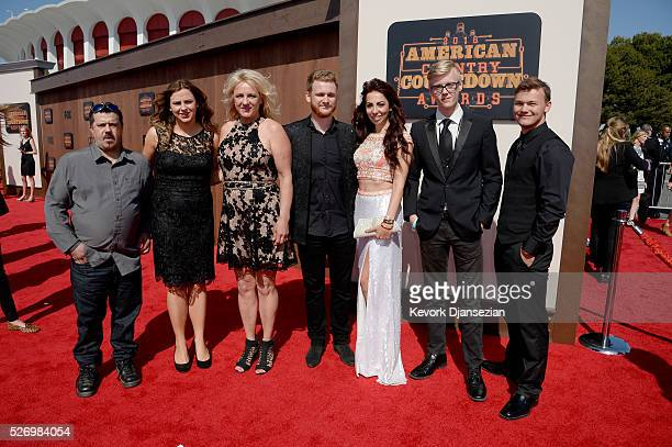 Ben Haggard accompanied by The Haggard family attends the 2016 American Country Countdown Awards at The Forum on May 1 2016 in Inglewood California
