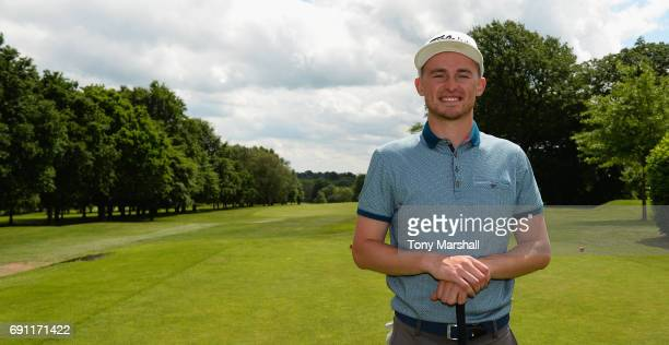 Ben Hall of Rushcliffe Golf Club winner of the PGA Assistants Championship Midland Qualifier at Coventry Golf Club on June 1 2017 in Coventry England