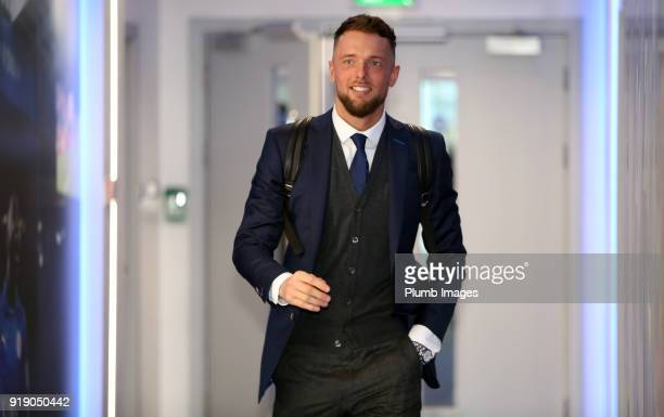 Ben Hamer ahead of the FA Cup fifth round match between Leicester City and Sheffield United at King Power Stadium on February 16th 2018 in Leicester...
