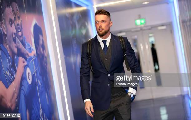 Ben Hamer ahead of the Premier League match between Leicester City and Swansea City at King Power Stadium on February 03rd 2018 in Leicester United...
