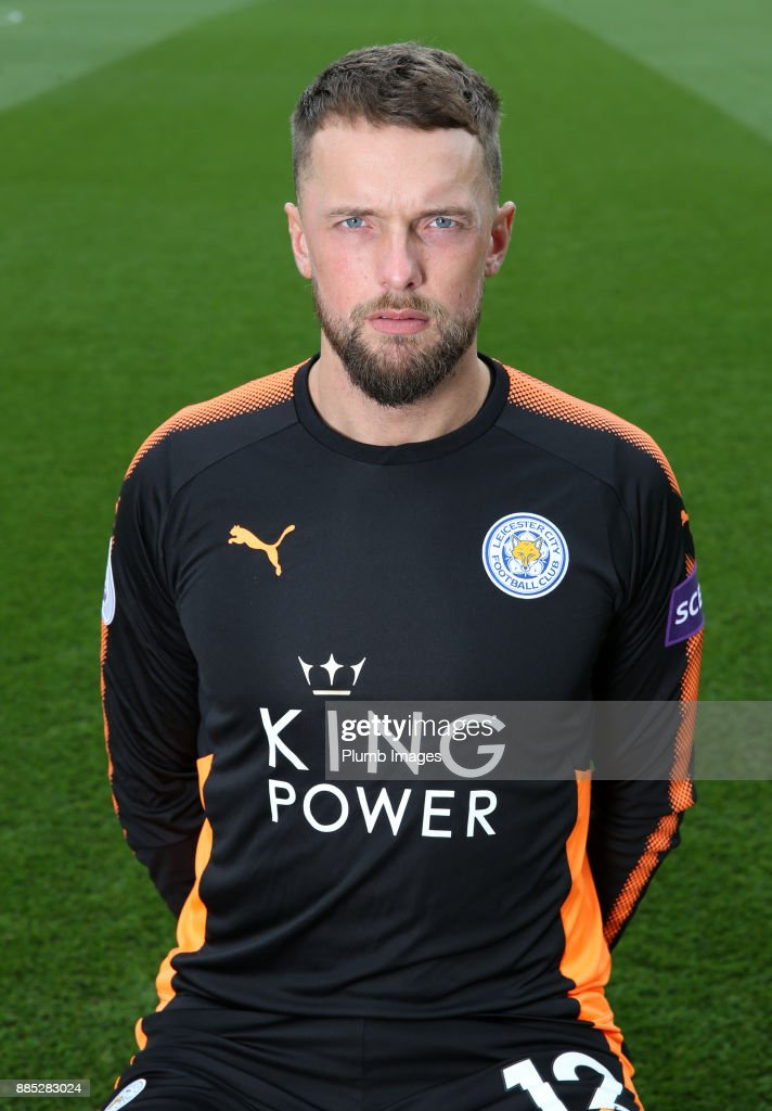 Ben Hamer during the Leicester City Official Team Group on November 1 , 2017 in Leicester, United Kingdom.