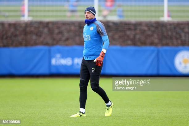 Ben Hamer during the Leicester City training session at Belvoir Drive Training Complex on December 29th 2017 in Leicester United Kingdom