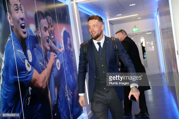 Ben Hamer during the Premier League match between Leicester City and Stoke City at King Power Stadium on February 24th 2018 in Leicester United...