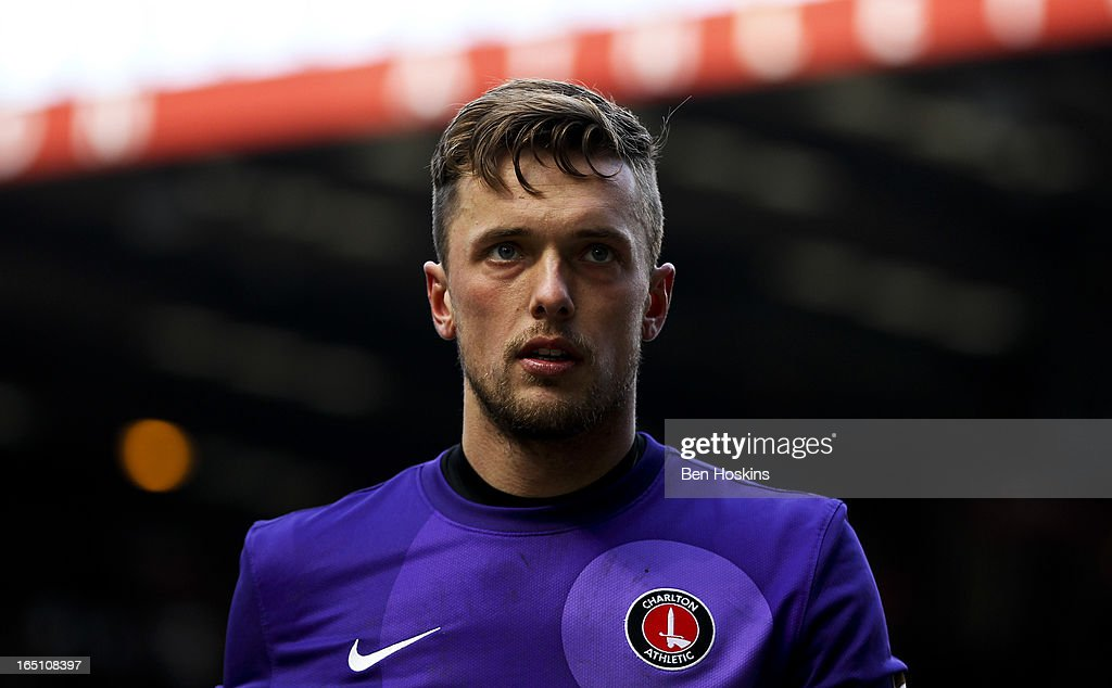 Ben Hamer of Charlton looks on during the npower Championship match between Charlton Athletic and Bolton Wanderers at the Valley on March 30, 2013 in London, England.