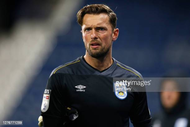 Ben Hamer of Huddersfield Town during the Sky Bet Championship match between Huddersfield Town and Nottingham Forest at John Smith's Stadium on...