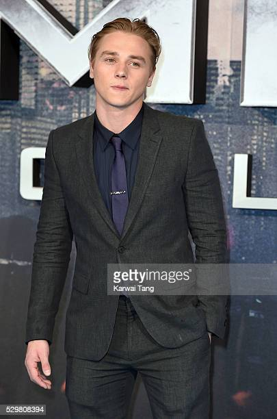 Ben Hardy attends a Global Fan Screening of 'XMen Apocalypse' at BFI IMAX on May 9 2016 in London England