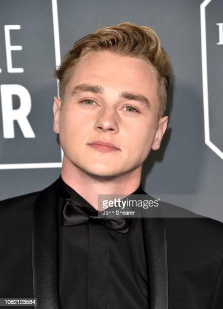 Ben Hardy attends the 24th Annual Critics' Choice Awards at Barker Hangar on January 13 2019 in Santa Monica California