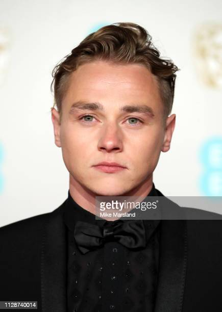 Ben Hardy attends the EE British Academy Film Awards at Royal Albert Hall on February 10 2019 in London England