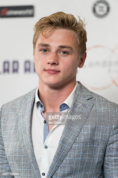 Ben Hardy attends the UK Premiere of Million Dollar Arm at Cineworld Shaftesbury Avenue on July 14 2014 in London England