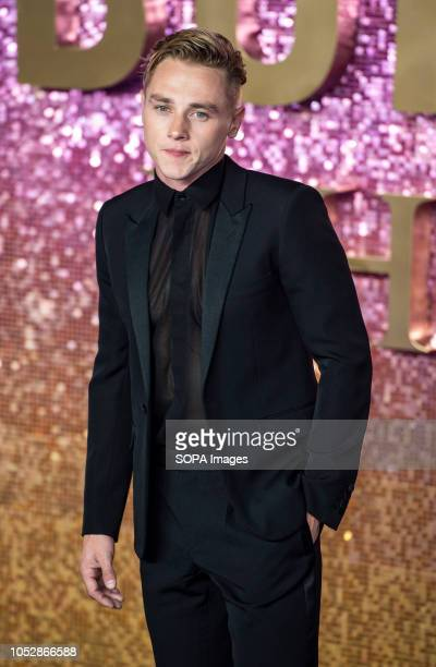 Ben Hardy attends the World Premiere of 'Bohemian Rhapsody' at SSE Arena Wembley