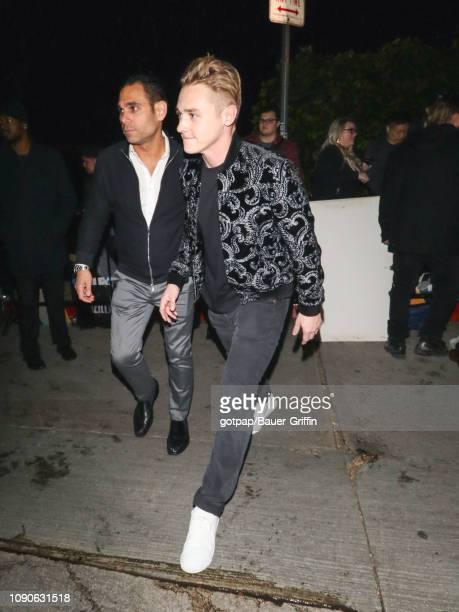 Ben Hardy is seen on January 27 2019 in Los Angeles California