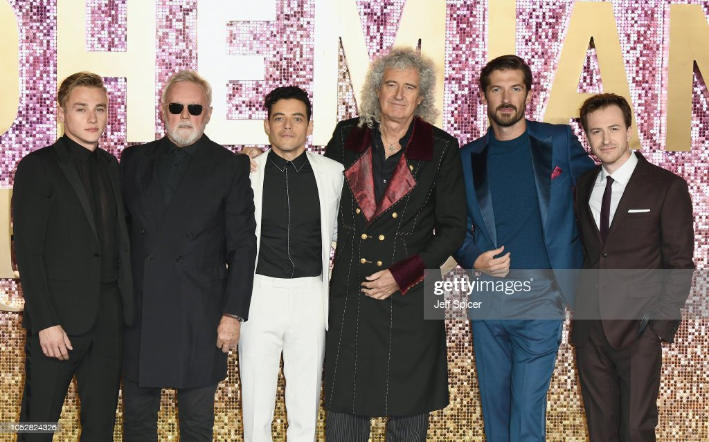 'Bohemian Rhapsody' World Premiere At The SSE Arena Wembley : News Photo