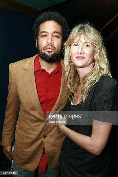 Ben Harper and Laura Dern at the The Music Box Henry Fonda Theatre in Hollywood California