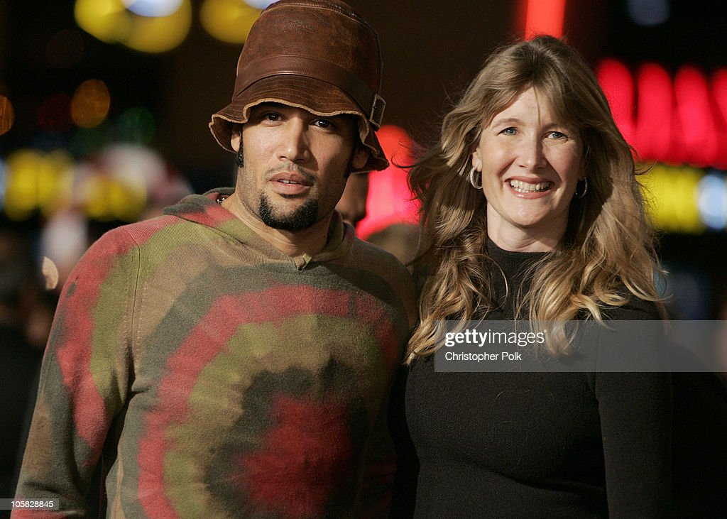 Ben Harper and Laura Dern during 'Meet the Fockers' Los Angeles Premiere at Universal Amphitheatre in Universal City, California, United States.