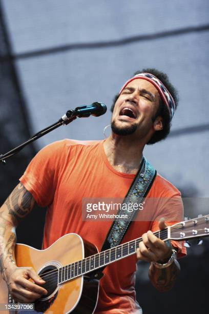 Ben Harper and the Innocent Criminals during Austin City Limits Music Festival Day Three September 17 2006 at Austin City Limits Music Festival 2006...